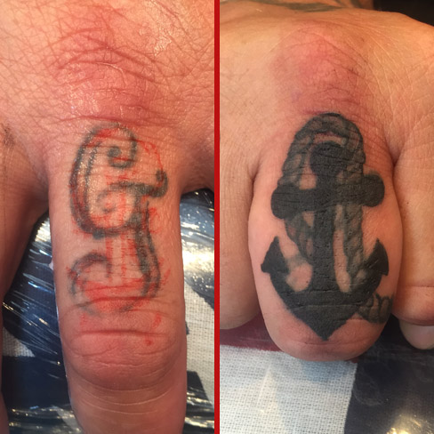 finger anchor cover up tattoo colchester essex
