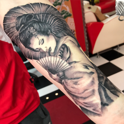 Tattoo, Best Tattoo, Colchester, Essex, Tattoo art, Tattoo Artist, Tattoos, Tattoo design, Top Tattoo, Black & grey Tattoo, reds tattoo, sonya trusty, essex tattoo, colchester, realism tattoo, tattoo ideas, geisha, japanese, japanese culture, japanese tattoo, geisha girl, geisha tattoo