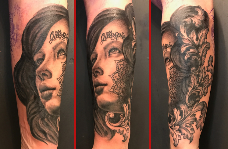 Tattoo, Best Tattoo, Colchester, Essex, Tattoo art, Tattoo Artist, Tattoos, Tattoo design, Top Tattoo, Black & grey Tattoo, reds tattoo, sonya trusty, essex tattoo, colchester, realism tattoo, portrait tattoo, portrait, female portrait, lady, woman, tattooed girl