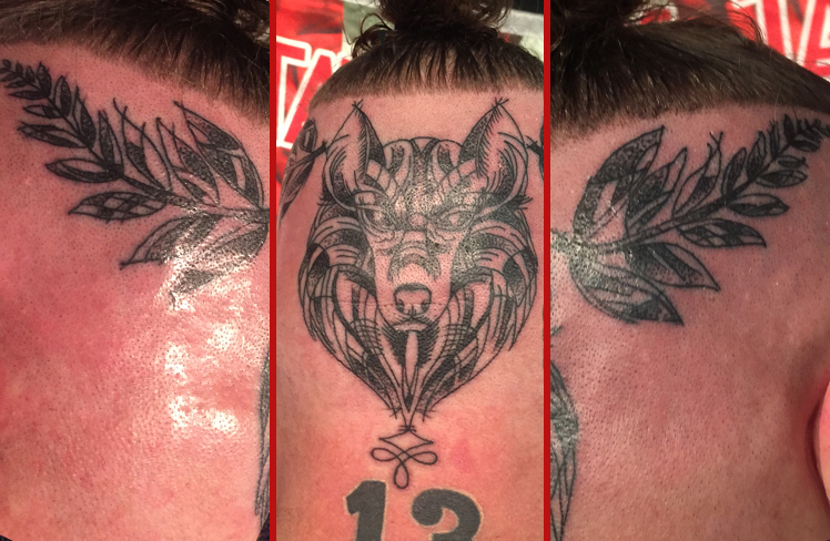 Tattoo, Best Tattoo, Colchester, Essex, Tattoo art, Tattoo Artist, Tattoos, Tattoo design, Top Tattoo, Black & grey Tattoo, reds tattoo, sonya trusty, essex tattoo, colchester, realism tattoo, tattoo ideas, wolf, wolf tattoo, head, head tattoo