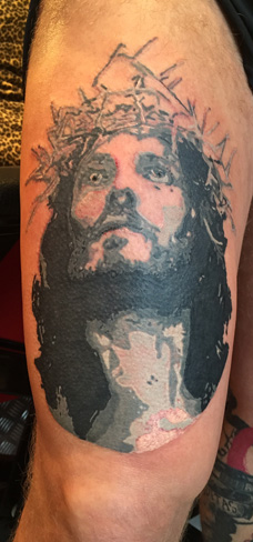 Tattoo, Best Tattoo, Colchester, Essex, Tattoo art, Tattoo Artist, Tattoos, Tattoo design, Top Tattoo, Black & grey Tattoo, reds tattoo, sonya trusty, essex tattoo, colchester, realism tattoo, tattoo ideas, jesus, jesus tattoo, religious tattoo, jesus christ