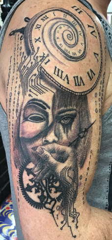 hacker black and grey tattoo reds tattoo colchester essex