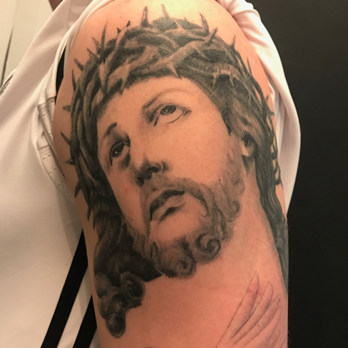 Tattoo, Best Tattoo, Colchester, Essex, Tattoo art, Tattoo Artist, Tattoos, Tattoo design, Top Tattoo, Black & grey Tattoo, reds tattoo, sonya trusty, essex tattoo, colchester, realism tattoo, tattoo ideas, jesus, jesus Christ, jesus tattoo, religious, religious tattoo