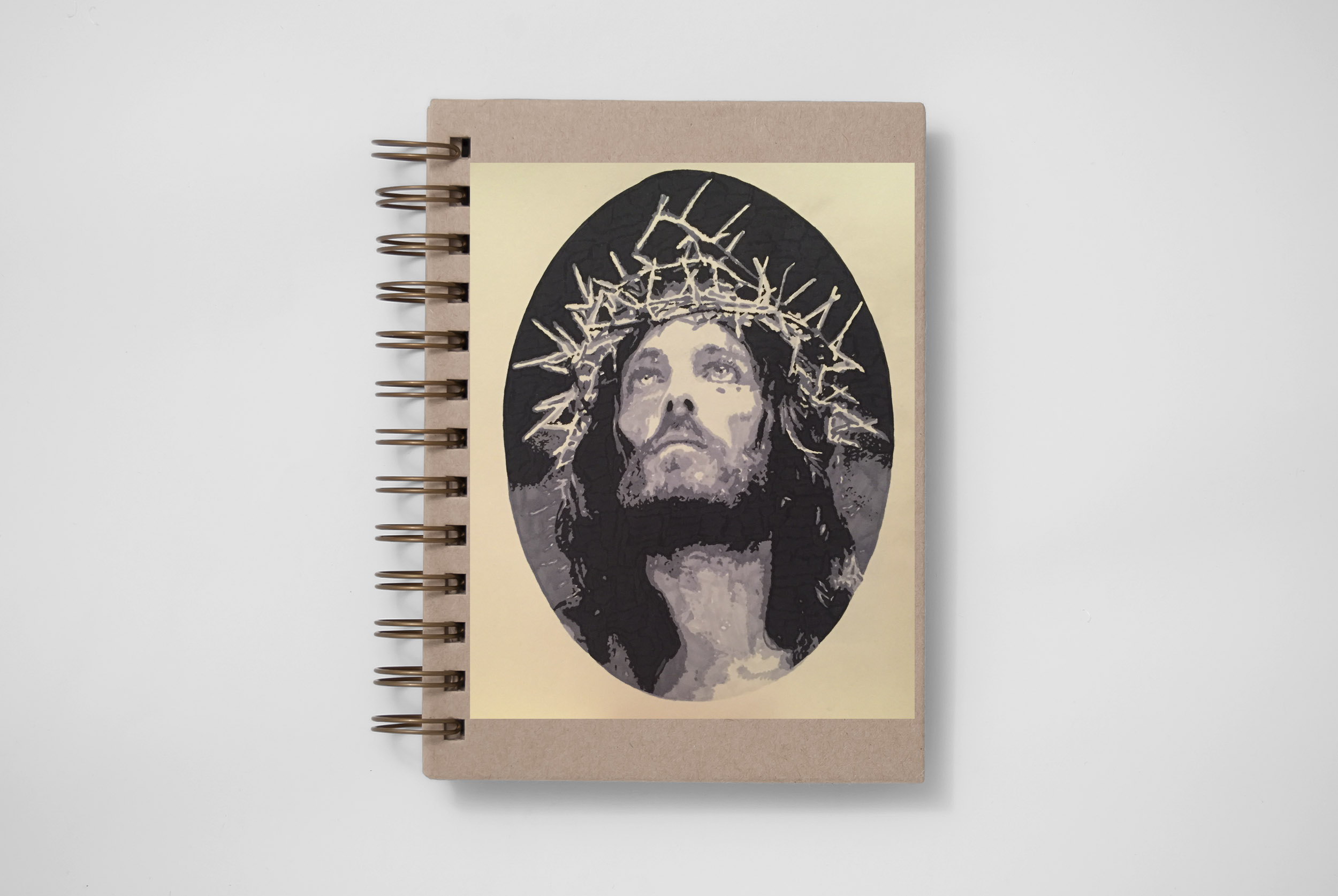 jesus graphic tattoo design