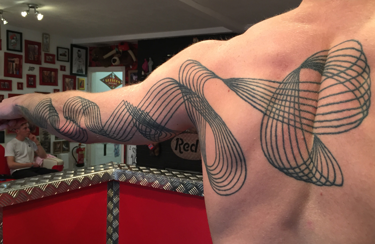 lines black and grey tattoo reds colchester essex