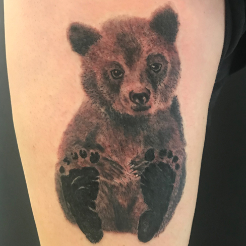bear sonya trusty black and grey reds tattoo colchester essex