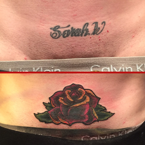 name rose cover up tattoo colchester essex reds tattoo