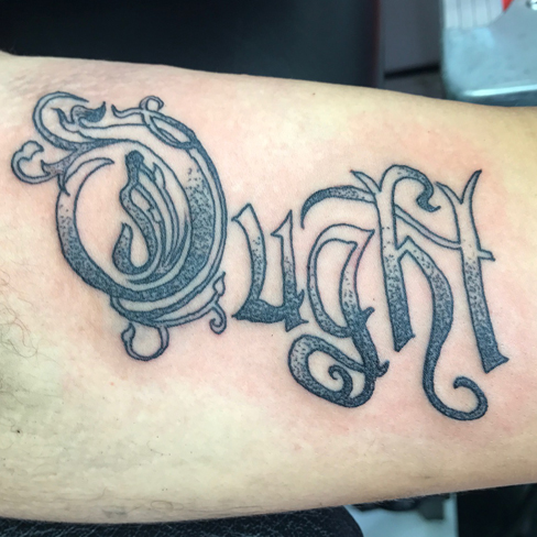 ought sonya trusty reds tattoo colchester essex