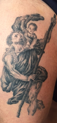 st christopher tattoo colchester essex
