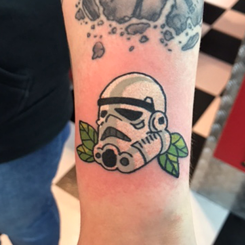Tattoo, Best Tattoo, Colchester, Essex, Tattoo art, Tattoo Artist, Tattoos, Tattoo design, Top Tattoo, reds tattoo, anna kowacka, essex tattoo, colchester, tattoo ideas, colour, colour tattoo, star wars, star wars tattoo, stormtrooper, stormtrooper tattoo