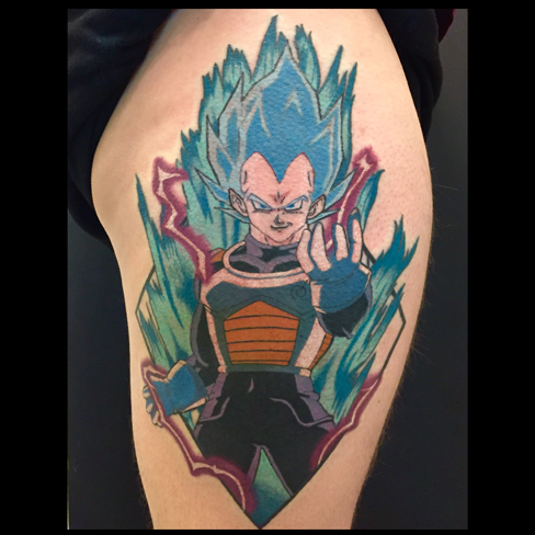 Tattoo, Best Tattoo, Colchester, Essex, Tattoo art, Tattoo Artist, Tattoos, Tattoo design, Top Tattoo, reds tattoo, anna kowacka, essex tattoo, colchester, tattoo ideas, colour, colour tattoo, anime, anime tattoo, dragonball z, dragon ball z tattoo