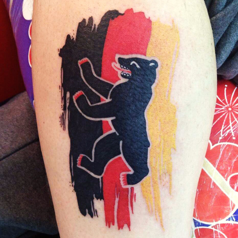 bear apprentice reds tattoo colchester essex