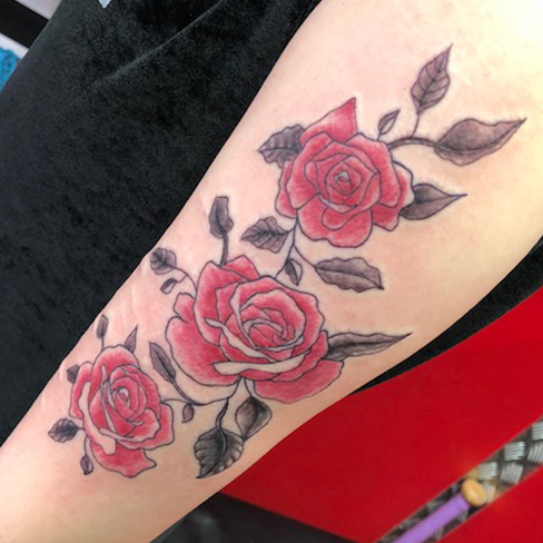 tattoo reds colchester essex colour sonya trusty