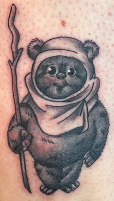 Tattoo, Best Tattoo, Colchester, Essex, Tattoo art, Tattoo Artist, Tattoos, Tattoo design, Top Tattoo, reds tattoo, anna kowacka, essex tattoo, colchester, tattoo ideas, linework, linework tattoo, outline, outline tattoo, ewok, ewok tattoo, star wars, star wars tattoo, cute