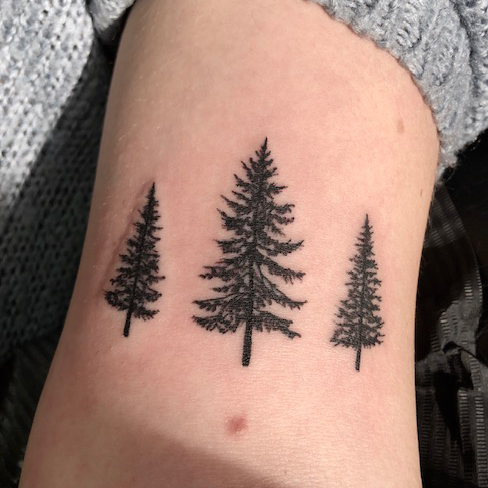 Tattoo, Best Tattoo, Colchester, Essex, Tattoo art, Tattoo Artist, Tattoos, Tattoo design, Top Tattoo, reds tattoo, anna kowacka, essex tattoo, colchester, tattoo ideas, trees, tree tattoo, simple tattoo, forest