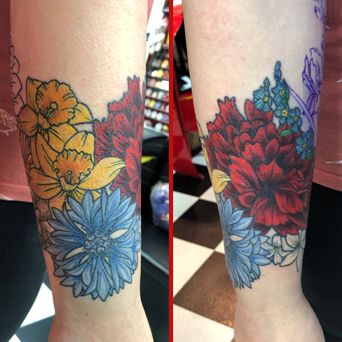 Tattoo, Best Tattoo, Colchester, Essex, Tattoo art, Tattoo Artist, Tattoos, Tattoo design, Top Tattoo, reds tattoo, anna kowacka, essex tattoo, colchester, tattoo ideas, rose, roses, rose tattoo, flower, flower tattoo, floral, floral tattoo