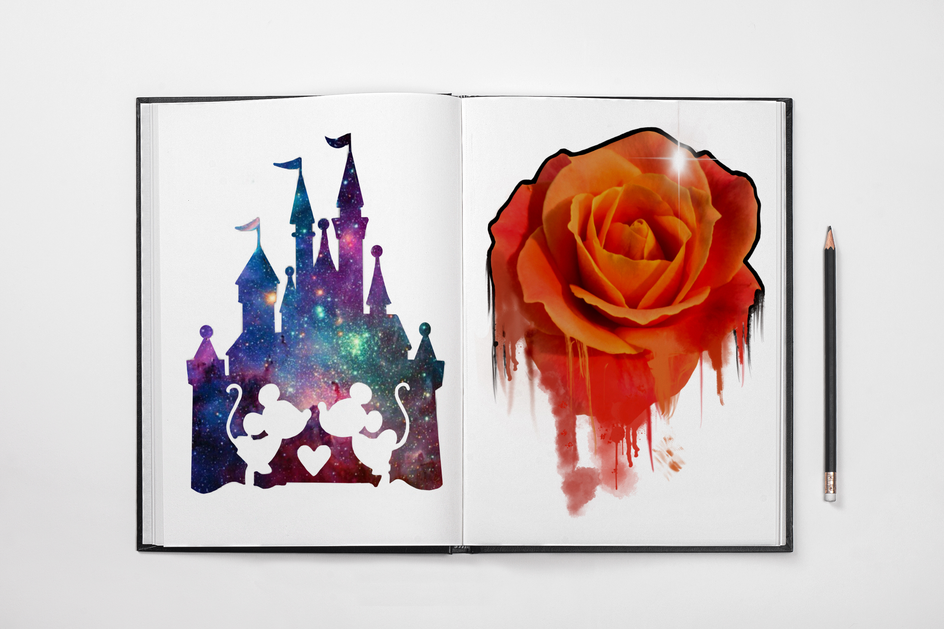 roses watercolour disney castle tattoo idea sketch tattoo colchester essex reds tattoo sonya trusty ideas