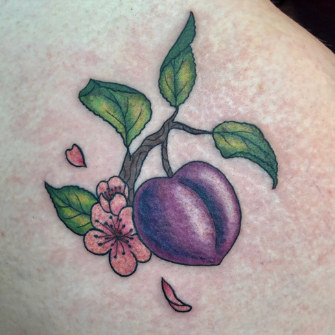 Tattoo, Best Tattoo, Colchester, Essex, Tattoo art, Tattoo Artist, Tattoos, Tattoo design, Top Tattoo, reds tattoo, anna kowacka, essex tattoo, colchester, tattoo ideas, colour, colour tattoo, peach, peach tattoo, cherry blossom, cherry blossom tattoo