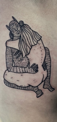 Tattoo, Best Tattoo, Colchester, Essex, Tattoo art, Tattoo Artist, Tattoos, Tattoo design, Top Tattoo, reds tattoo, anna kowacka, essex tattoo, colchester, tattoo ideas, linework, linework tattoo, outline, outline tattoo, devil, devil tattoo, illustration tattoo