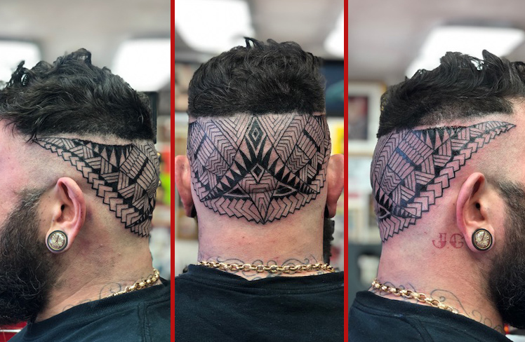 mandala, polynesian, head tattoo, head, black grey, Tattoo, Best Tattoo, Colchester, Essex, Tattoo art, Tattoo Artist, Tattoos, Tattoo design, Top Tattoo, Black & grey Tattoo, reds tattoo, sonya trusty, essex tattoo, colchester