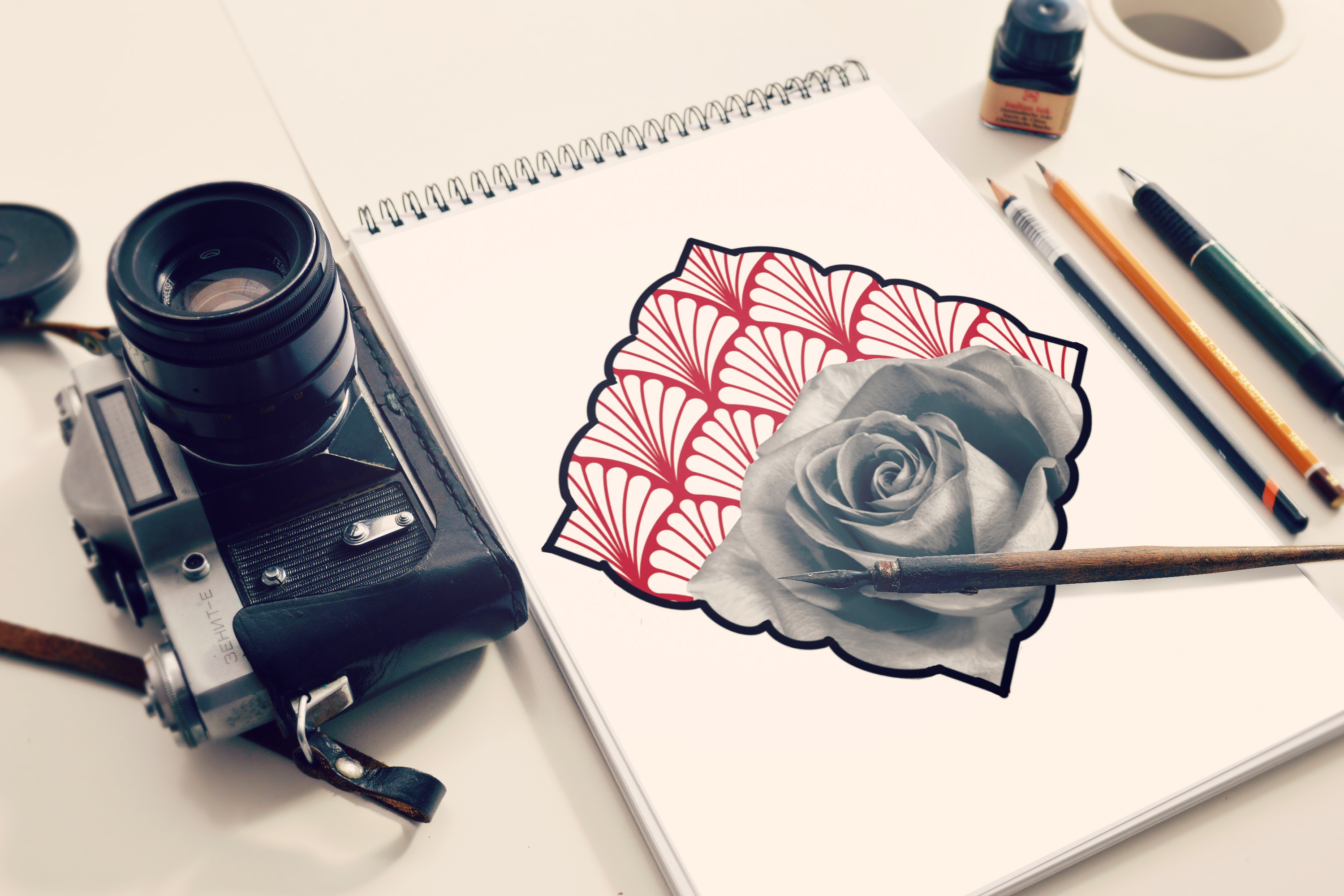 rose geometric tattoo idea sketch tattoo colchester essex reds tattoo sonya trusty ideas