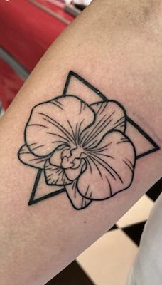 Tattoo, Best Tattoo, Colchester, Essex, Tattoo art, Tattoo Artist, Tattoos, Tattoo design, Top Tattoo, reds tattoo, anna kowacka, essex tattoo, colchester, tattoo ideas, linework, linework tattoo, outline, outline tattoo, orchid, orchid tattoo, flower, flower tattoo