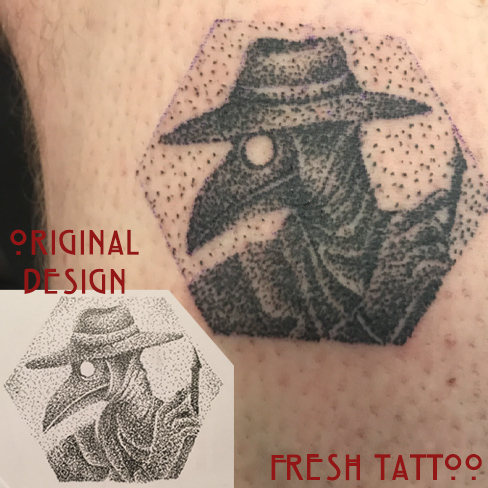 Tattoo, Best Tattoo, Colchester, Essex, Tattoo art, Tattoo Artist, Tattoos, Tattoo design, Top Tattoo, Black & grey Tattoo, reds tattoo, sonya trusty, essex tattoo, colchester, realism tattoo, tattoo ideas, plague doctor, dotwork, dots