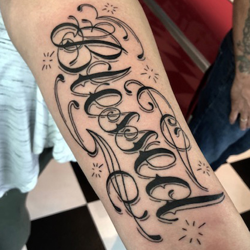 Tattoo, Best Tattoo, Colchester, Essex, Tattoo art, Tattoo Artist, Tattoos, Tattoo design, Top Tattoo, reds tattoo, anna kowacka, essex tattoo, colchester, tattoo ideas, script, writing, lettering, blessed, blessed tattoo