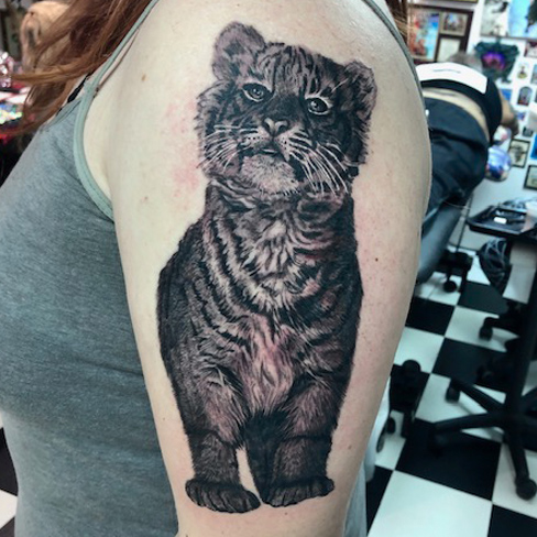 Tattoo, Best Tattoo, Colchester, Essex, Tattoo art, Tattoo Artist, Tattoos, Tattoo design, Top Tattoo, reds tattoo, anna kowacka, essex tattoo, colchester, tattoo ideas, realism, realistic tattoo, black and grey tattoo, black and grey, tiger, tiger tattoo, realistic tiger, tiger cub