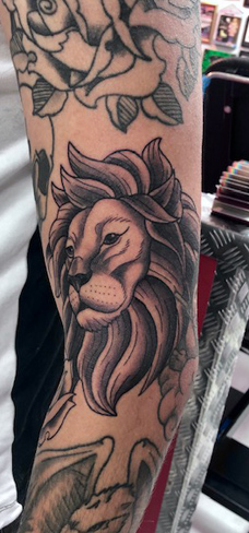 Tattoo, Best Tattoo, Colchester, Essex, Tattoo art, Tattoo Artist, Tattoos, Tattoo design, Top Tattoo, reds tattoo, anna kowacka, essex tattoo, colchester, tattoo ideas, black and grey, black and grey tattoo, lion, lion tattoo