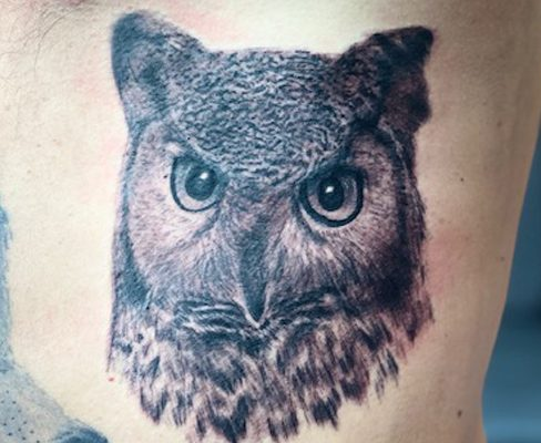 Tattoo, Best Tattoo, Colchester, Essex, Tattoo art, Tattoo Artist, Tattoos, Tattoo design, Top Tattoo, Black & grey Tattoo, reds tattoo, sonya trusty, essex tattoo, colchester, realism tattoo, owl, owl tattoo, ribs, ribs tattoo