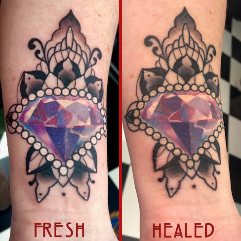 Tattoo, Best Tattoo, Colchester, Essex, Tattoo art, Tattoo Artist, Tattoos, Tattoo design, Top Tattoo, reds tattoo, anna kowacka, essex tattoo, colchester, tattoo ideas, gem tattoo, crystal tattoo, mandala, mandala tattoo, fresh tattoo, healed tattoo, fresh vs healed