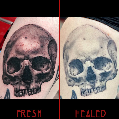 Tattoo, Best Tattoo, Colchester, Essex, Tattoo art, Tattoo Artist, Tattoos, Tattoo design, Top Tattoo, reds tattoo, anna kowacka, essex tattoo, colchester, tattoo ideas, skull tattoo, skull, fresh tattoo, healed tattoo, fresh vs healed
