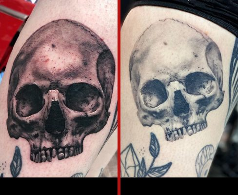 Tattoo, Best Tattoo, Colchester, Essex, Tattoo art, Tattoo Artist, Tattoos, Tattoo design, Top Tattoo, Black & grey Tattoo, reds tattoo, anna kowacka, essex tattoo, colchester, tattoo ideas, realism, realism tattoo, realistic tattoo, skull tattoo, skull, fresh tattoo, healed tattoo, fresh vs healed