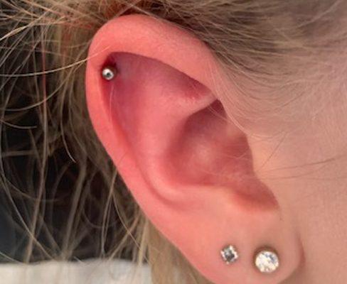 Piercing Piercings Conch Piercing Tragus Piercing Scaffolding