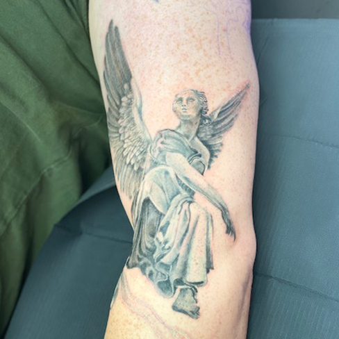 Tattoo, Best Tattoo, Colchester, Essex, Tattoo art, Tattoo Artist, Tattoos, Tattoo design, Top Tattoo, Black & grey Tattoo, reds tattoo, sonya trusty, essex tattoo, colchester, full sleeve, forearm tattoo, religious tattoo ,angel tattoo
